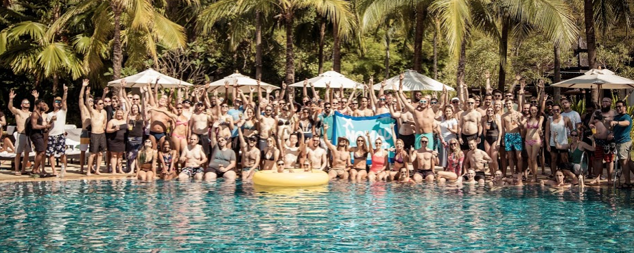 nomad summit pool party in chiang mai 2019